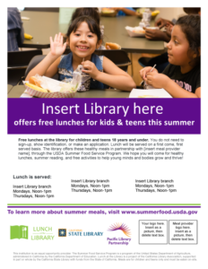 Lunch at the Library flyer v8